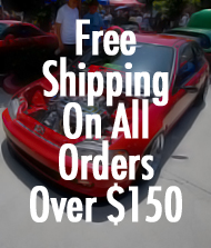 Free ground shipping on all orders over $150.00 at No Limit Motor Sport.