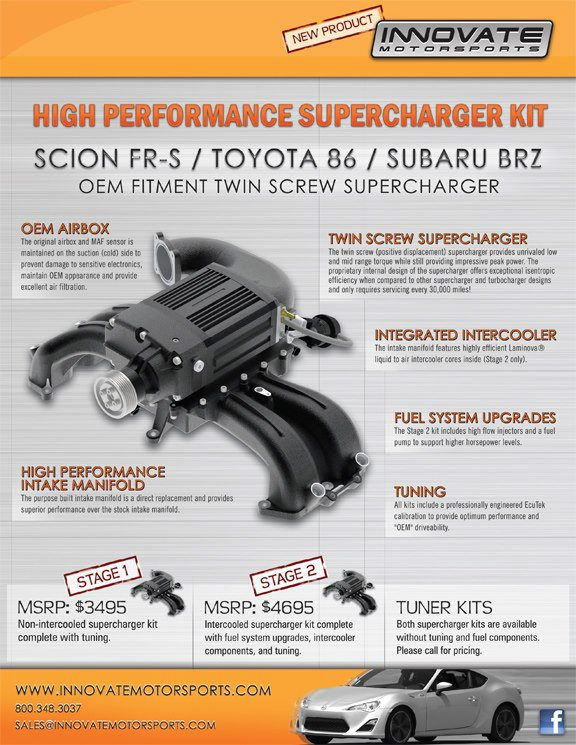 Innovate Motorsports Twin Screw Super Charger
