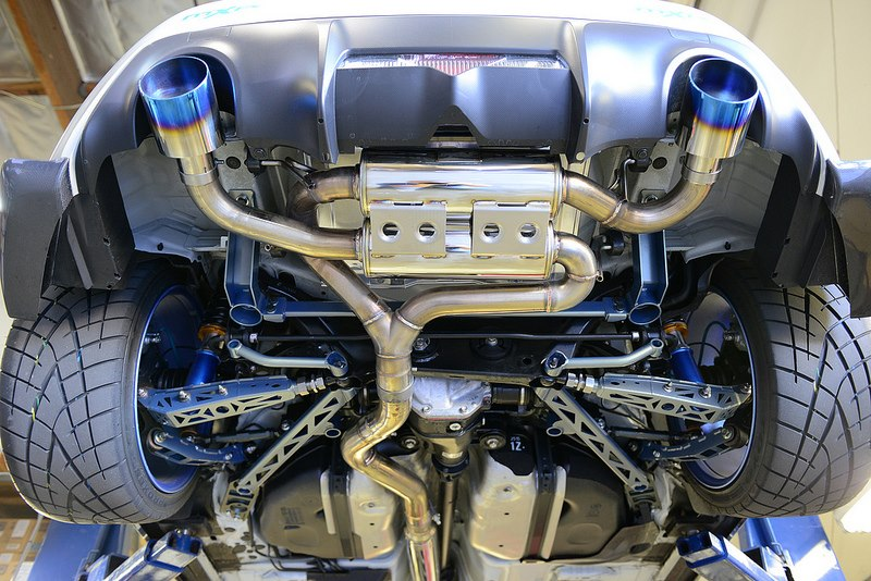MXP Stainless-Steel, Dual, Cat-back Exhaust for the Subaru BRZ and Scion FRS