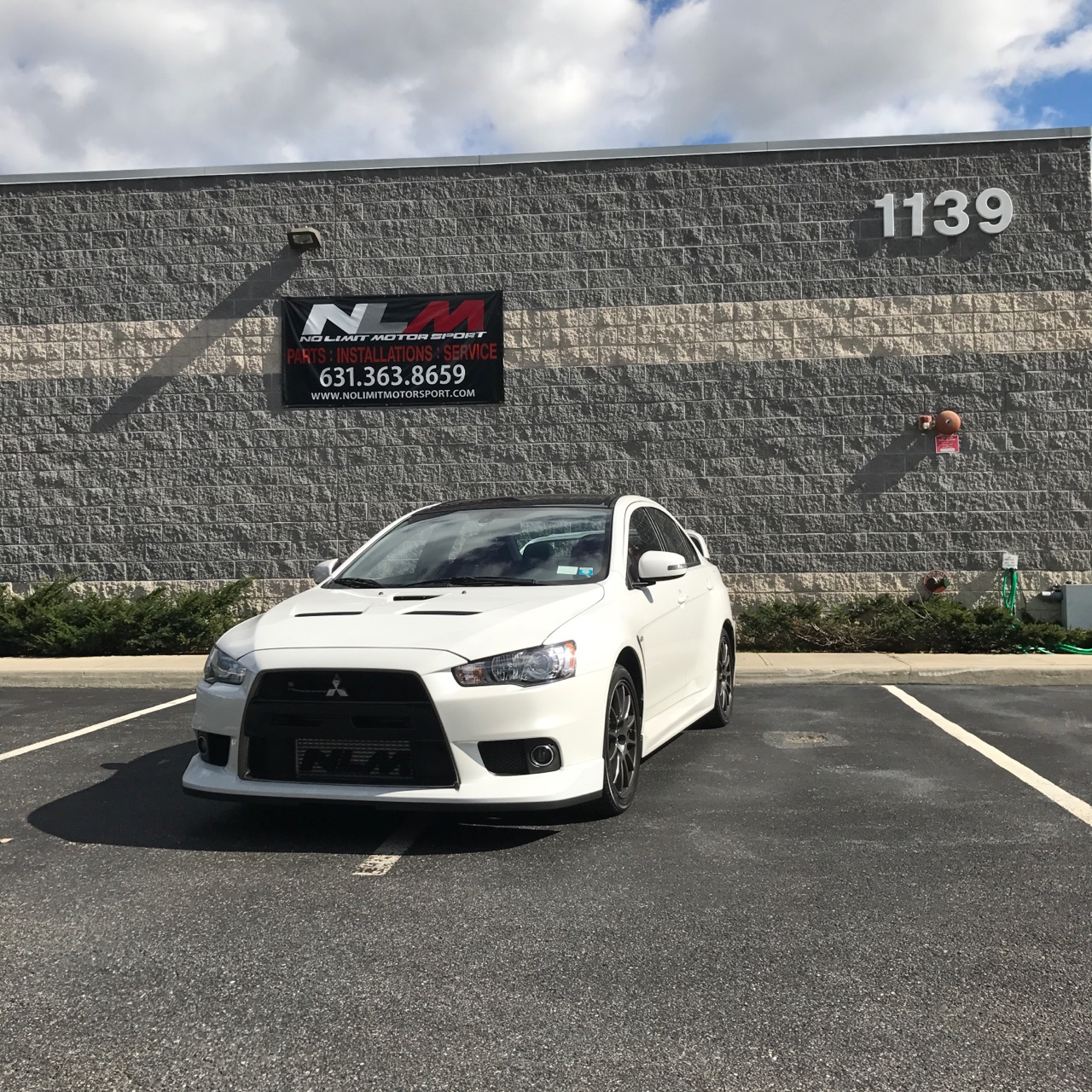 Rich Spinelli's 2015 Mitsubishi Evo Final Edition